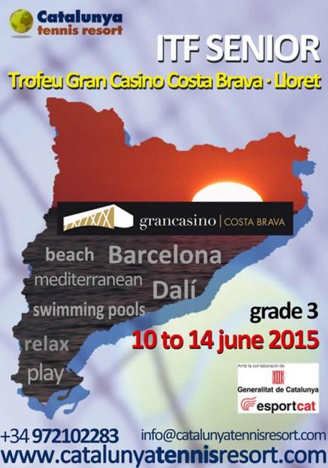 5è Torneig ITF Internacional Sènior Trofeu SALK-Gran Casino Costa Brava Lloret.