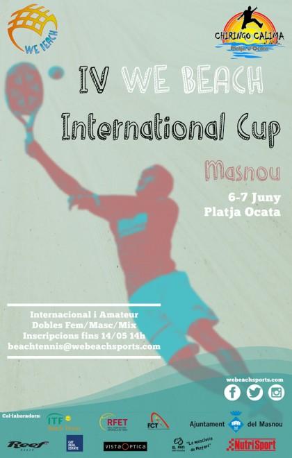 IV Torneig WE BEACH International Cup a El Masnou