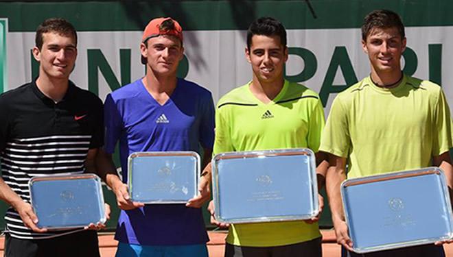 Jaume Antoni Munar i Álvaro López, campions júnior de dobles a Roland Garros