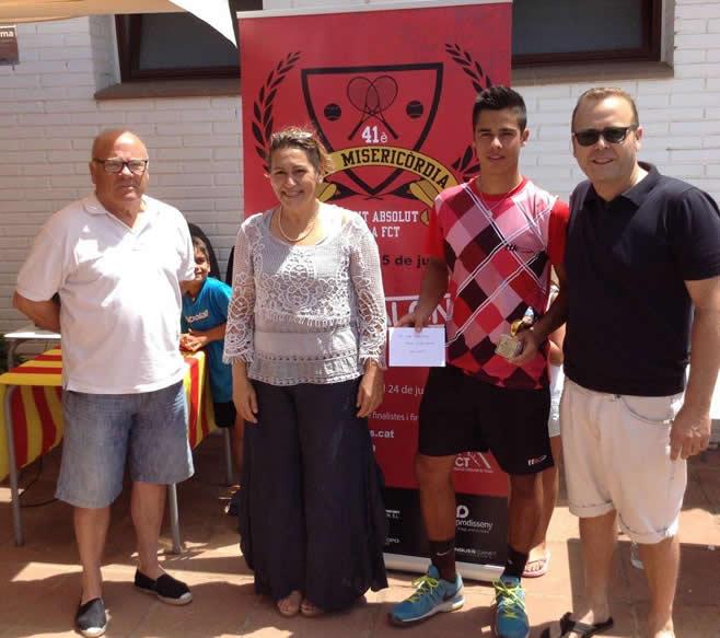 David Biosca, guanyador del 41é Open Misericòrdia | Trofeu Julián Alonso