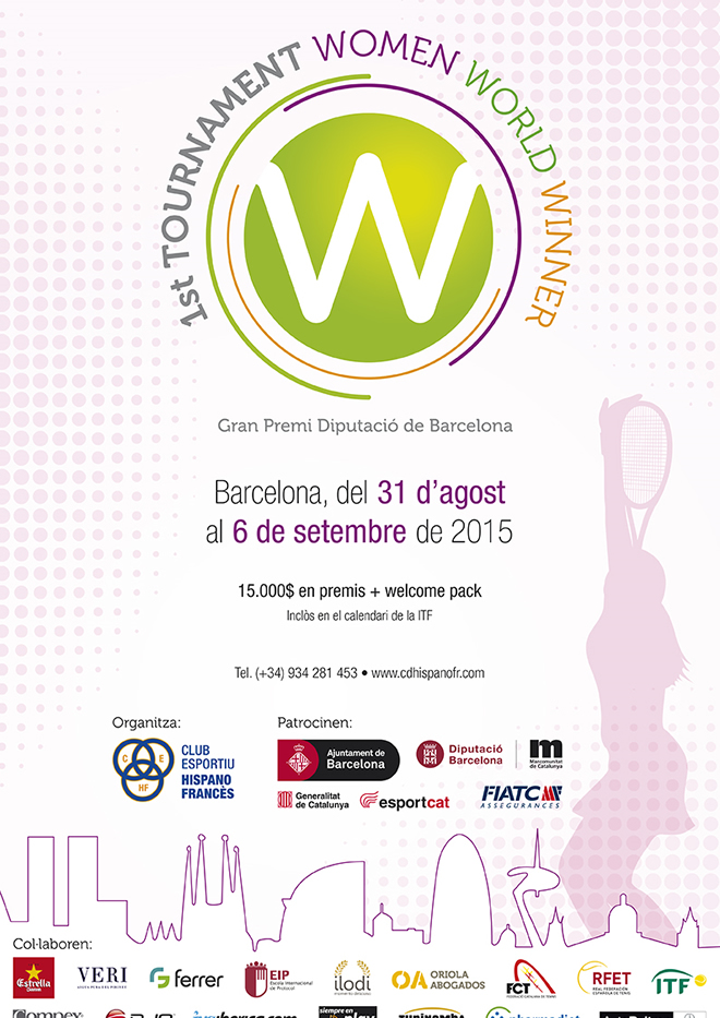 1st Tourmament Women World Winner Barcelona