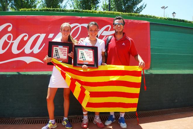 Nicolás Álvarez guanya el Campionat d'Espanya Infantil, mentre que Aina Plana i Gemma Lairon es queden a un pas del títol en el dobles femení