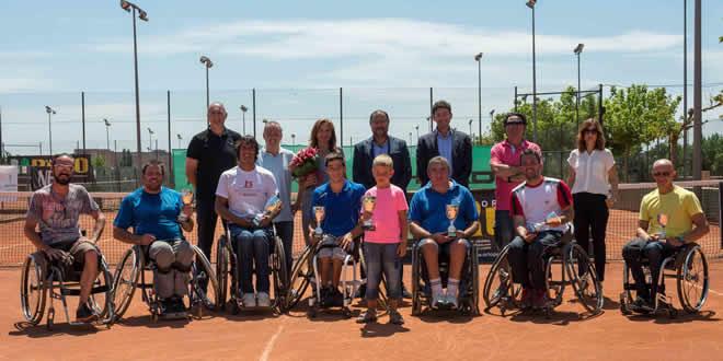 Francesc tur, campió de l'Open Internacional Ortopèdia Rubio de Tennis en Cadira de Rodes