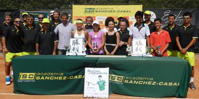 Nicolás Álvarez i Oana Corneanu campions del Tennis Europe Antonio Hernández Cup In Memoriam