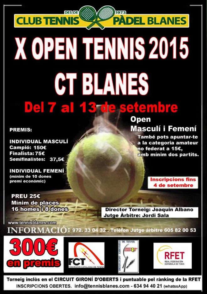 Open Tennis 2015 CT Blanes