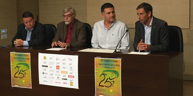 roda de premsa del XXV Campionat de Catalunya en Cadira de Rodes