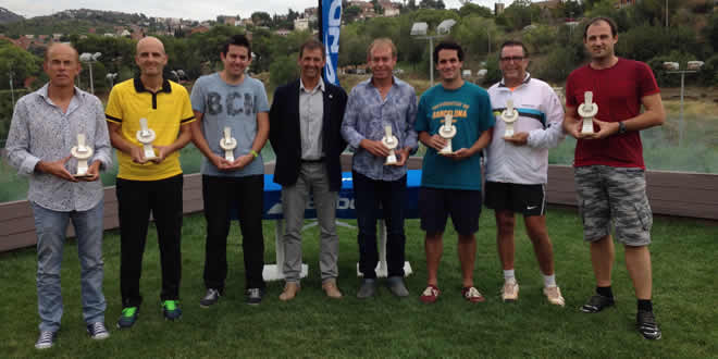 """Guanyadors del Campionat de catalunya Sènior """"0"""""""