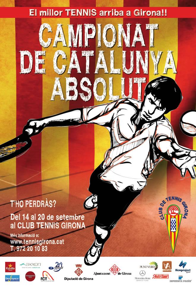 EL CT Girona acollirà el Campionat de Catalunya Absolut, Trofeu Joan Margets i Ferrer 'In Memoriam'