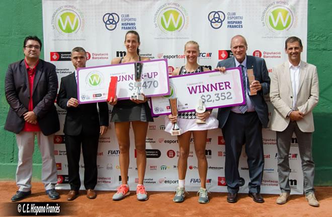 Myrtille Georges, campiona del 1st Tournament Women World Winner