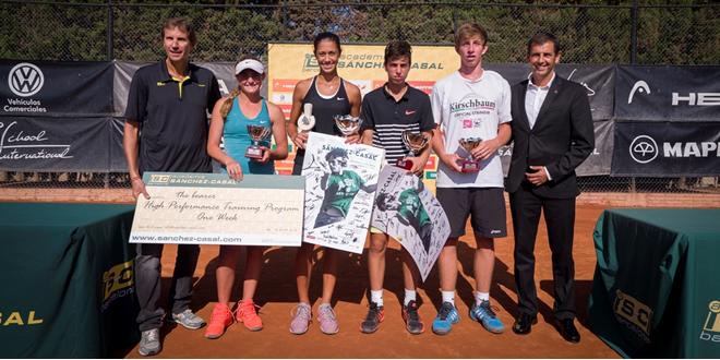 Adrian Andreev y Olga Danilovic Campeones torneo ITF Sánchez-Casal Junior Cup Tennis Europe U18