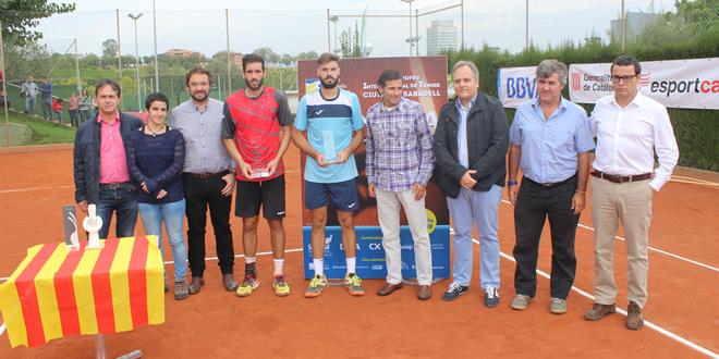 Marc Giner, campió del 23è Trofeu Internacional de Tennis Ciutat de Sabadell