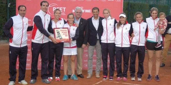 El RCT Barcelona-1899 es proclama campió d'Espanya Femení per Equips Absoluts