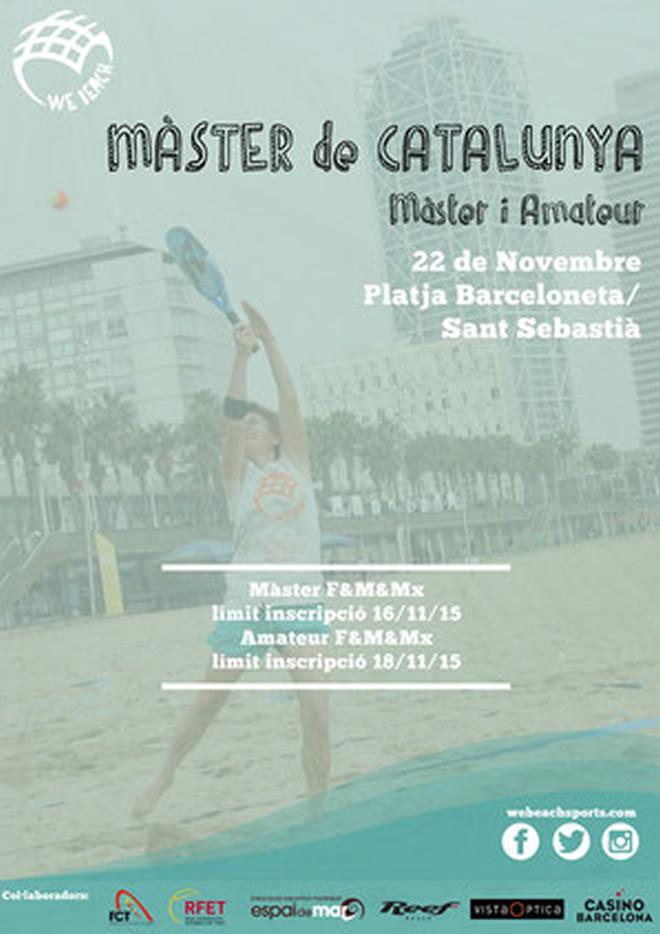 Novembre 22 - Màster de Catalunya de tennis platja a Barcelona