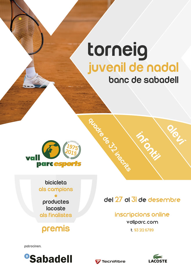 X Campionat juvenil Nadal-2015