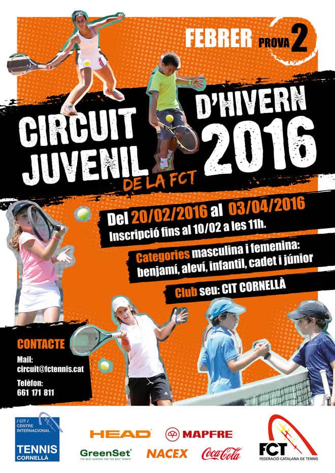 Circuit Juvenil d'Hivern de la FCT - Prova 2