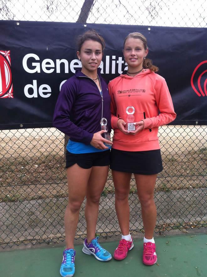 Pablo Irigaray i Júlia Payola, campions de la prova del Circuit Absolut de la FCT a la Vall d'Hebron