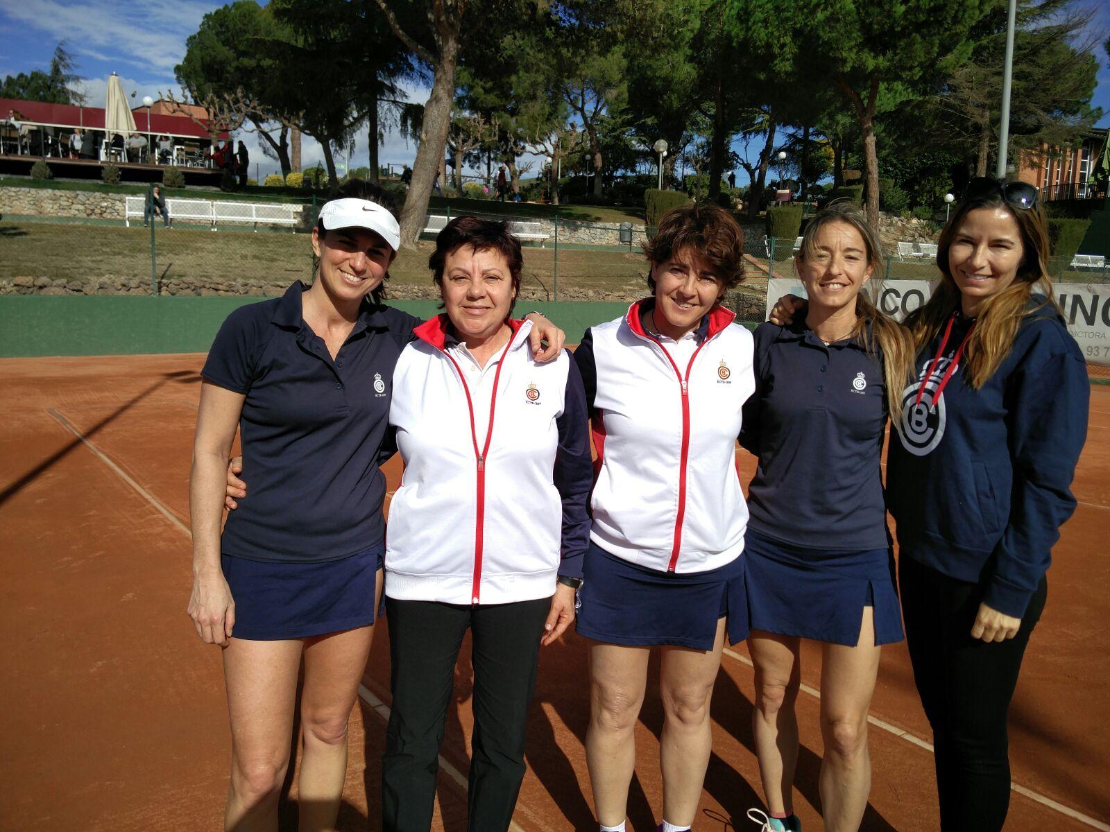 campiONAT de Catalunya per Equips Sènior femení +45 Or