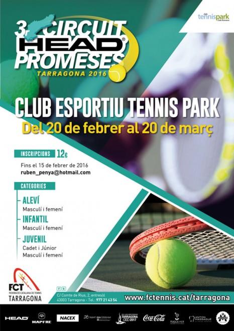 Copia de Cartell Circuit Promeses CE Tennis Park. Per imprimir.