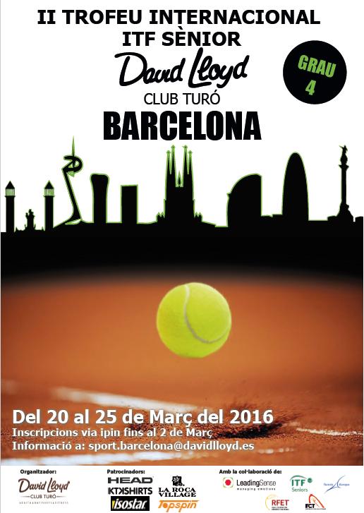 II Trofeu Internacional ITF Sènior David Lloyd