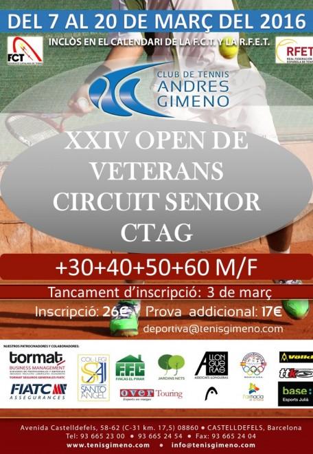 Open Veteranos Junior