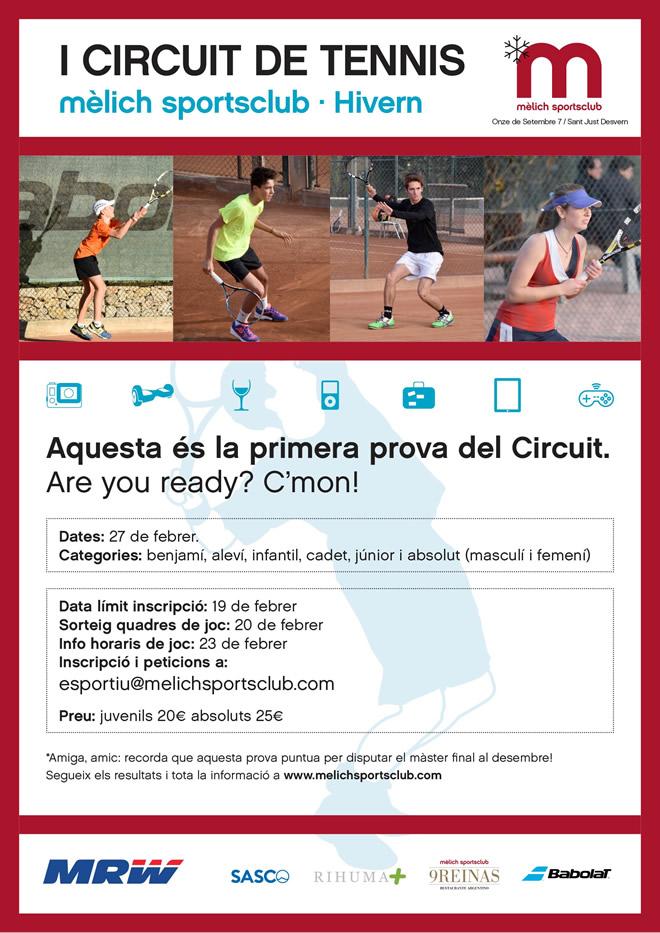 I Circuit de Tennis mèlich sportsclub · Hivern