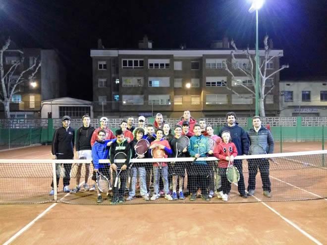 Jornada Táctica Tennis. Sicoris Club. Federación Catalana de Tenis. Roberto Velilla.