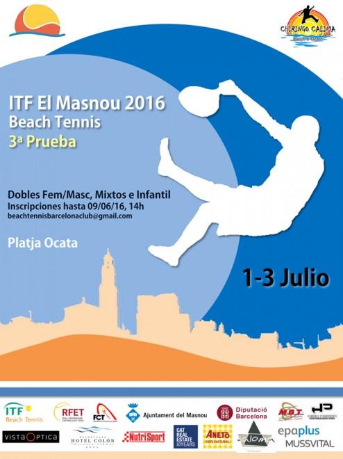 Poster El Masnou Juliol