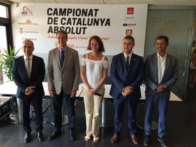 Presentació Campionat Catalunya Absolut de tennnis