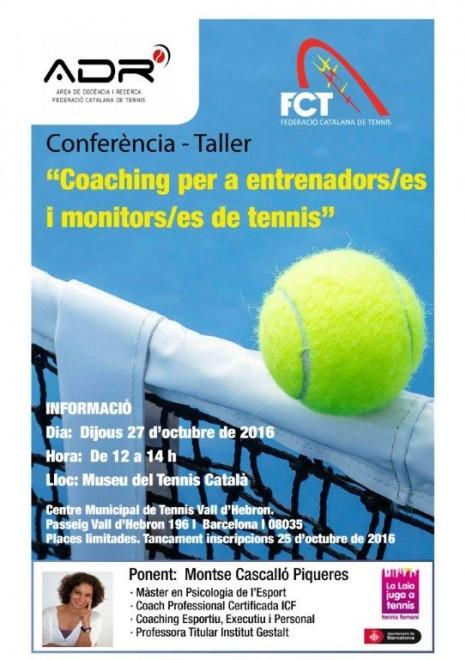 Cartell Conferència Coaching