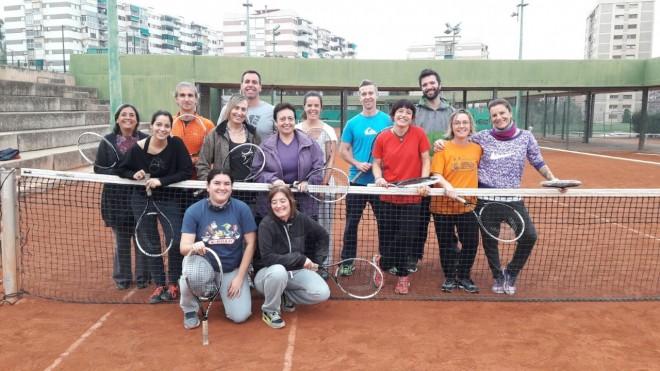 Foto Jornada Laia juga al tennis profesorado