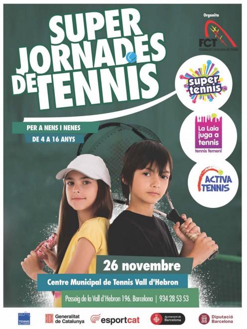 POSTER SUPER JORNADA DE TENNIS